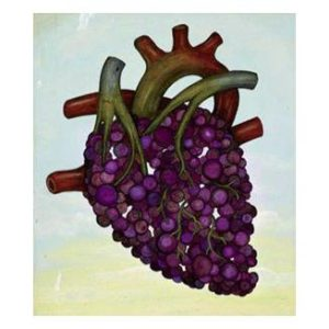 Corazón de uva